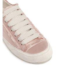 Pedro Garcia - Multicolor 'parson' Satin Sneakers - Lyst