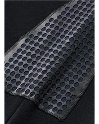 Alexander McQueen - Black Embroidered Cotton Sweatshirt for Men - Lyst