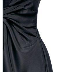 ROKSANDA | Black 'thurloe' Draped Sash Bodice Crepe Jumpsuit | Lyst
