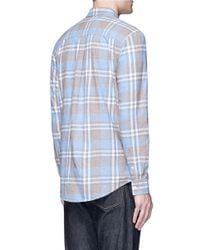 TOPMAN | Multicolor Washed Check Plaid Shirt for Men | Lyst
