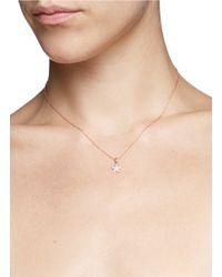 Khai Khai | Metallic 'star' Diamond Pendant Necklace | Lyst