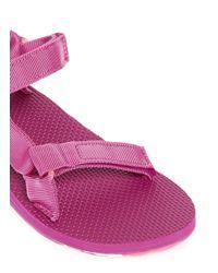 Teva | Pink 'original Universal Marbled' Sandals | Lyst