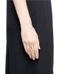 Pamela Love - Metallic 'reversible Moon Phase' Diamond Lapis 18k Gold Ring - Lyst
