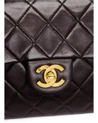 Chanel - Brown Quilted Leather 2.55 Shoulder Bag - Lyst