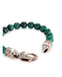 Stephen Webster - Green Raven Head Malachite Bracelet - Lyst