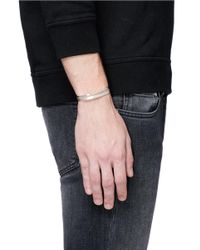 Le Gramme   Metallic 'variation Slick' 15g And 7g Sterling Silver Cuff Set for Men   Lyst