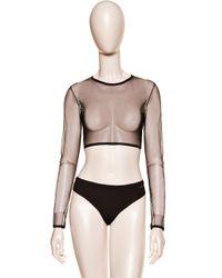 La Perla | Black Long-sleeved Top | Lyst