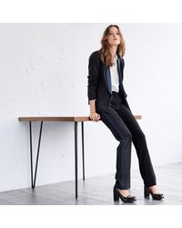 LA REDOUTE - Black Pantalon Smoking Fuselé - Lyst