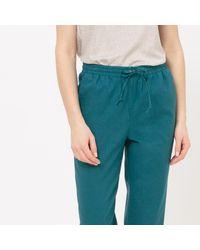 LA REDOUTE | Multicolor Jogpant Mélange Coton/lin | Lyst