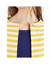 Compañía Fantástica | Yellow Amarillo Starfruit Striped Jacket | Lyst