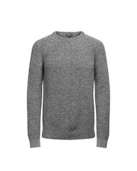 Jack & Jones | Gray Pull Grosse Maille for Men | Lyst
