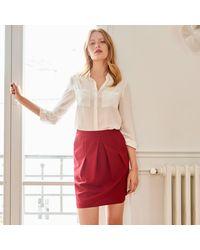 LA REDOUTE - Blue Short Skirt - Lyst