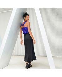 LA REDOUTE - Multicolor Ruffled Hem Maxi Skirt - Lyst