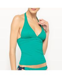 LA REDOUTE - Green Bodyshaping Tankini Top - Lyst