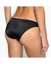 LA REDOUTE - Black Lace Maternity Brief - Lyst
