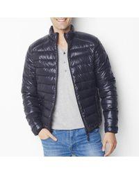 LA REDOUTE - Black Slim Fit Padded Jacket for Men - Lyst