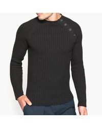 LA REDOUTE | Black High Neck Jumper/sweater for Men | Lyst