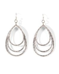 LA REDOUTE - Metallic Earrings - Lyst