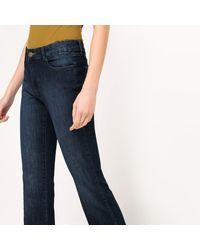 "LA REDOUTE - Blue Bootcut Jeans, Length 32"" - Lyst"