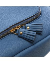 Anya Hindmarch - Blue Small Vere Periwinkle Leather Satchel Bag - Lyst