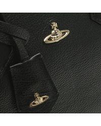 Vivienne Westwood - Balmoral Black Leather Tote Bag - Lyst