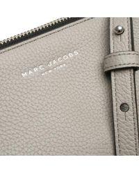 Marc Jacobs - Gray Standard Smoke Grey Leather Cross-body Bag - Lyst