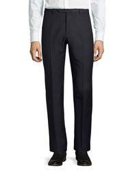 Zanella - Blue Parker Wool Pants for Men - Lyst