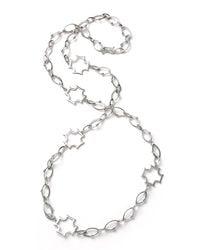 Elizabeth Showers | Multicolor Long Maltese-station Chain Necklace | Lyst
