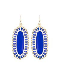 Kendra Scott | Multicolor Dayla Oblong Earrings With Box | Lyst