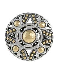 John Hardy | Metallic Palu Coin Ring | Lyst