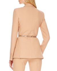 Michael Kors - Natural Two-button Crepe Jacket - Lyst