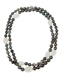 Belpearl | Multicolor Long 14k Baroque South Sea & Tahitian Pearl Necklace | Lyst