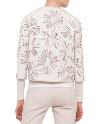 Akris Punto - Multicolor 3/4-sleeve Matchstick Reversible Jacket - Lyst