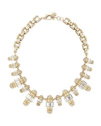Lulu Frost | Metallic Phantom Crystal Statement Necklace | Lyst