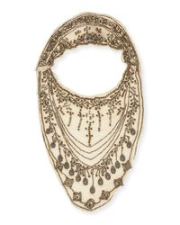 Missoni - Metallic Embellished Bib Neckpiece - Lyst