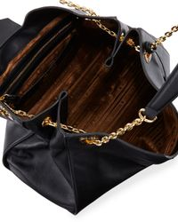 Love Moschino - Black Angelo Leather Shoulder Bag - Lyst