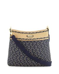 Eric Javits | Black Escape Squishee® Crossbody Pouch Bag | Lyst