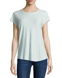 James Perse - Green Short-sleeve T-shirt - Lyst