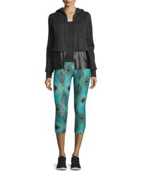 Koral Activewear - Green Printed Ankle Leggings - Lyst