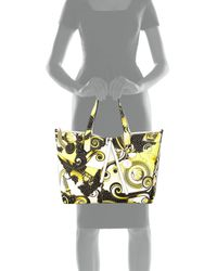 Versace Jeans - Multicolor Large Printed Tote Bag - Lyst