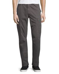 J Brand | Gray Collins Cargo Pants for Men | Lyst