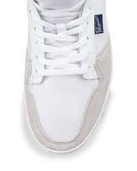 Original Penguin - White Roy Leather Lace-up Sneaker for Men - Lyst