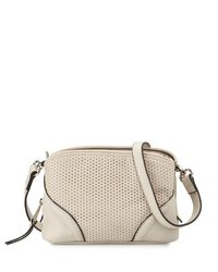 French Connection | Multicolor Brett Perforated Faux-leather Crossbody Bag | Lyst