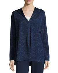 Max Studio | Blue Space-dye Pullover Sweater | Lyst