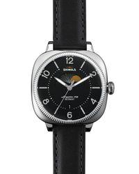 Shinola | Black 36mm Gomelsky Moon Phase Watch | Lyst