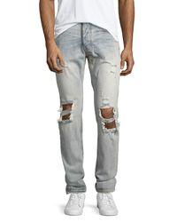 One Teaspoon | Blue Mr. Whites Destroyed Jeans for Men | Lyst
