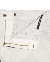 Incotex | Multicolor Washed 5-pocket Cotton Stretch Pants for Men | Lyst