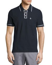 Original Penguin | Blue Earl Short-sleeve Polo Shirt for Men | Lyst