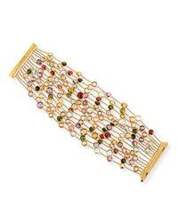 Marco Bicego - Metallic Jaipur 18k Mixed Gemstone 15-strand Bracelet - Lyst
