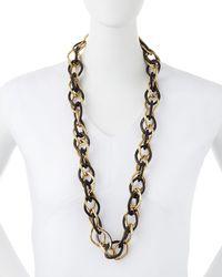 Ashley Pittman - Multicolor Kamba Dark Horn Necklace - Lyst